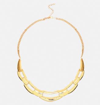 Avenue Chain Link Bib Necklace