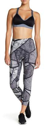 Hue Geo Animal Print Shaping Leggings
