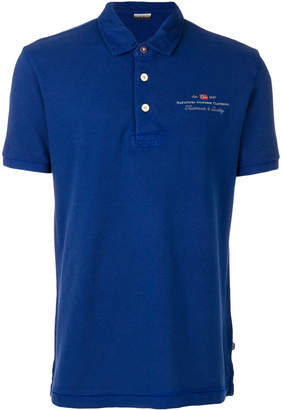 Napapijri embroidered logo polo shirt
