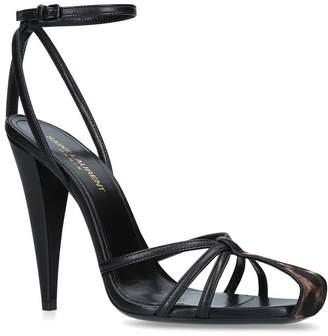 Saint Laurent Leather Era Sandals 110