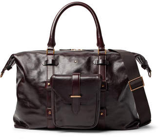 Montblanc Heritage Leather Duffle Bag