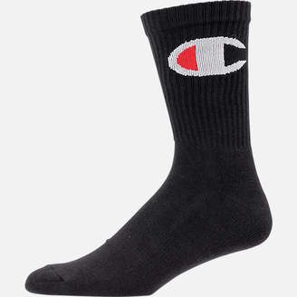 Champion Men's Big C Crew Socks