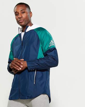 adidas Color Block Windbreaker Jacket
