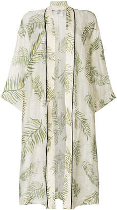 Forte Forte leaf print coat