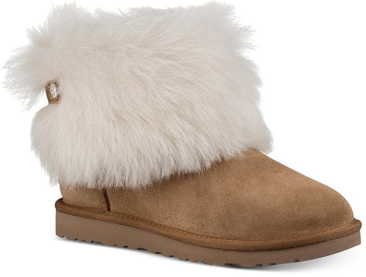 UGGUGG® Valentina Shearling Cuff Boots