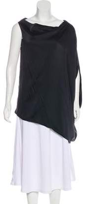 Kaufman Franco KAUFMANFRANCO Oversize One-Shoulder Blouse