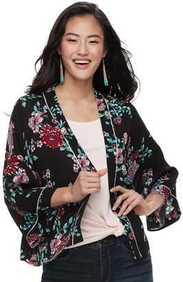 Candies Juniors' Candie's Floral Kimono