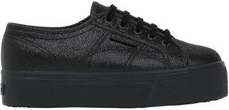 40mm 2790 Lamè Textile Sneakers $102 thestylecure.com