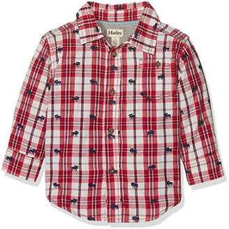 Hatley Boy's Plaid Button Down Shirt