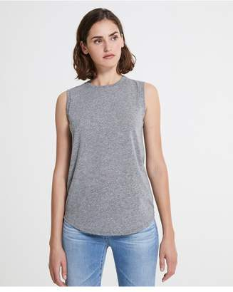 AG Jeans The Ashton Muscle Tank - Speckled Heather Grey