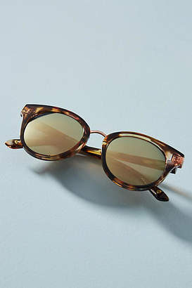 Anthropologie Tortoise Cat-Eye Sunglasses