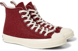 Converse 1970s Chuck Taylor All Star Felt High-Top Sneakers