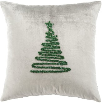 kohls safavieh enchanted christmas throw pillow