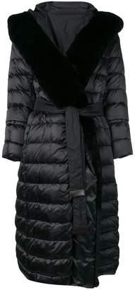 Max Mara 'S belted padded coat