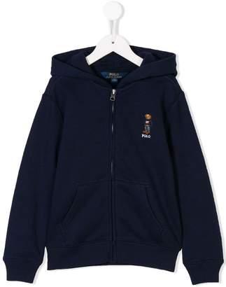 Ralph Lauren Bear zipped hoodie