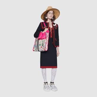Gucci Short vintage tweed dress