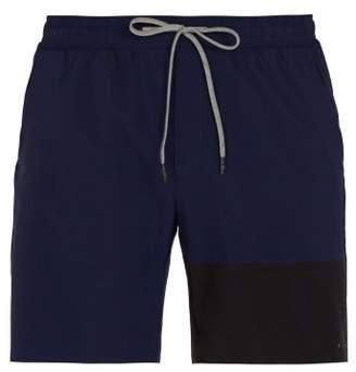 Falke Ess - Contrast Panel Shorts - Mens - Navy Multi