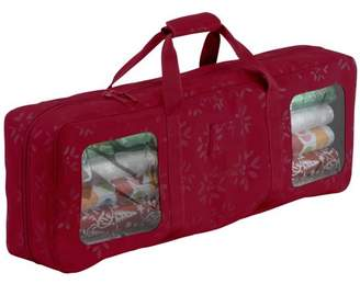 Classic Accessories Seasons Wrapping Supplies Organizer & Storage Duffel - Heavy-Duty Holiday Storage