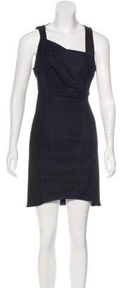 Helmut Lang Accented Mini Dress