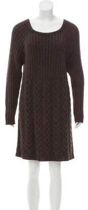 Magaschoni Long Sleeve Sweater Dress