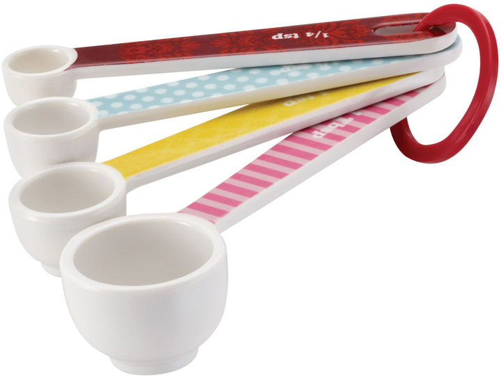 CAKE BOSS Cake BossTM Countertop Accessories 4-pc. Melamine Measuring Spoon Set