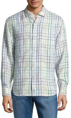 Tommy Bahama Tulum Terrace Linen Button-Down Shirt