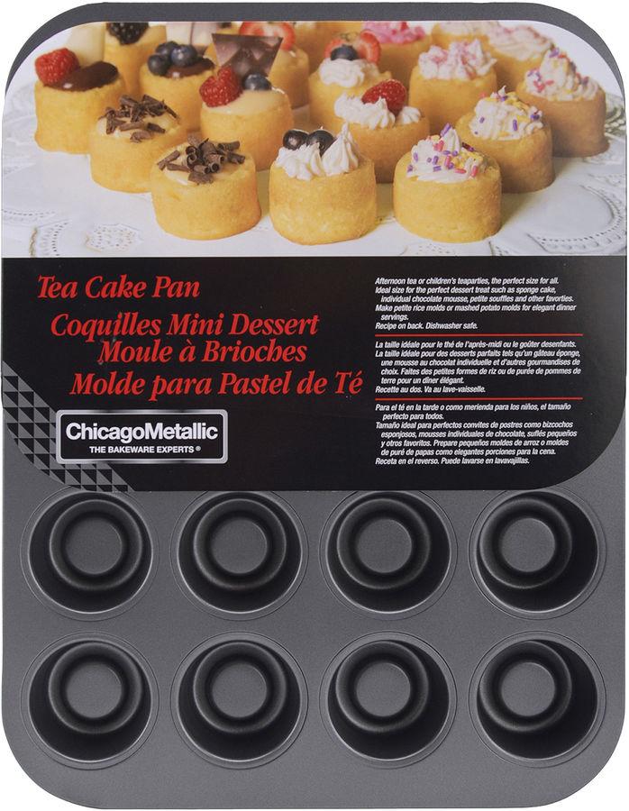 ChicagoTM Metallic 20-cup Tea Cake Pan