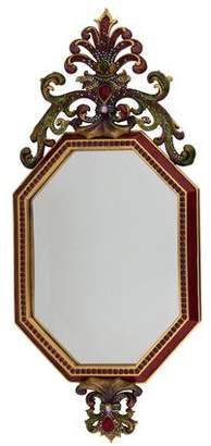 Jay Strongwater Embellished Wall Mirror