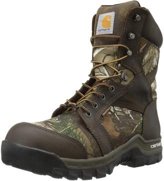 """Carhartt Men's 8"""" Rugged Flex Insulated Waterproof Breathable Composite Toe Leather Boot CMF8379"""