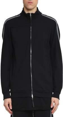 11 By Boris Bidjan Saberi Cotton Blend Taped Track Jacket