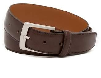 Bosca Edge Stitched Leather Belt