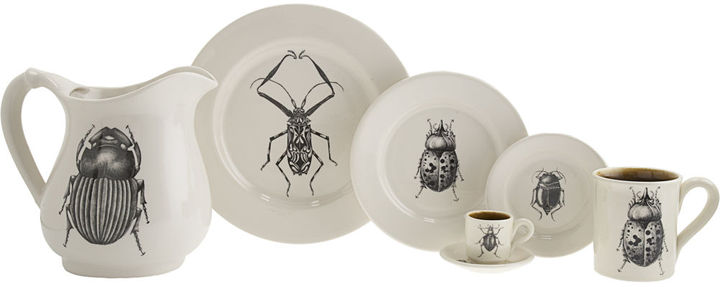 Laura Zindel Harlequin Beetle Lunch Plate