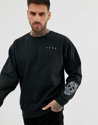 Bolongaro Trevor skull arm print sweatshirt