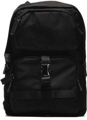 Prada Buckled Backpack