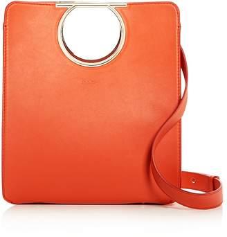 Salvatore Ferragamo Medium Top Handle Leather Tote
