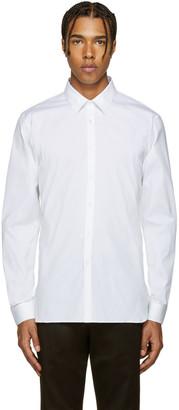 Burberry White Seaford Shirt $385 thestylecure.com
