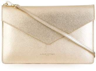Lancaster high-shine clutch bag