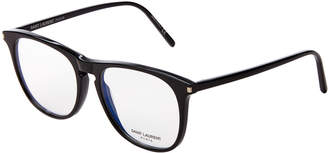 Saint Laurent SL146-001 Black Round Optical Frames