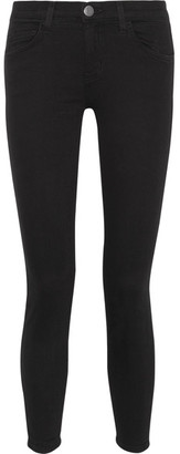 Current/Elliott - The High Waist Stiletto Skinny Jeans - Black $185 thestylecure.com