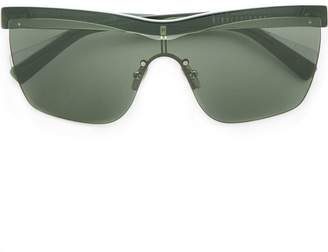 Dion Lee clear frame sunglasses