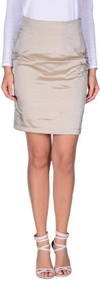 Gold Case Mini skirts