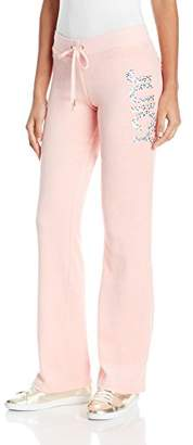 Juicy Couture Black Label Women's Velour Glam Sprinkles Del Rey Pant