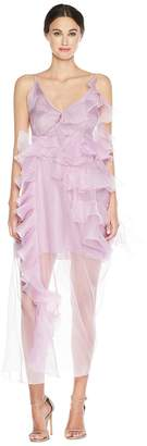 Preen by Thornton Bregazzi Veronique Dress w/ Jersey Slip Women's Dress