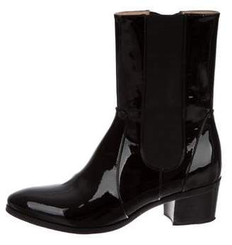 Chanel CC Chelsea Ankle Boots