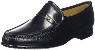 Barker Men''s Jefferson Loafers, (Black Kid), 44 EU