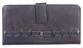 Salvatore Ferragamo Leather Fold-Over Wallet