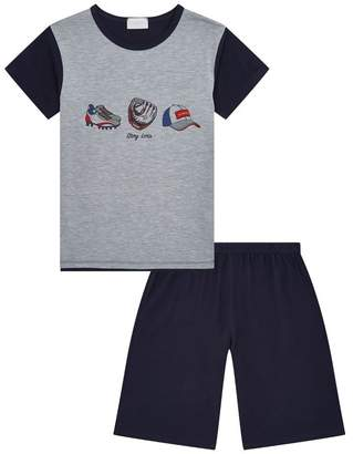 story. Loris Baseball Pyjama T-Shirt and Shorts Set