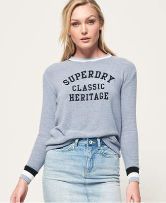 Superdry American Girl Applique Top