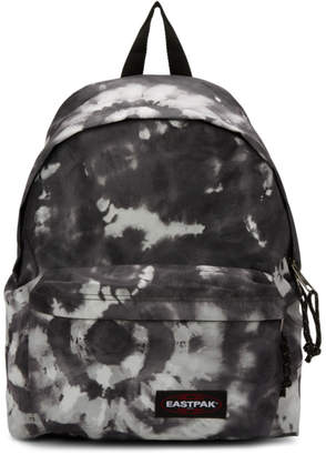 Eastpak SSENSE Exclusive Black and White Tie Dye Padded Pakr Backpack