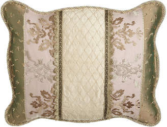 Sweet Dreams Standard Alessandra Pieced Sham with Beaded Center